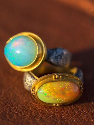 Egyptian Opal Ring