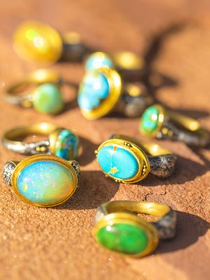 Turquoise Egyptian Ring