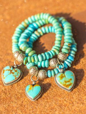 Heart Stacking bracelet