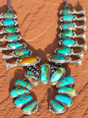 Exclusive Squash Blossom Necklace