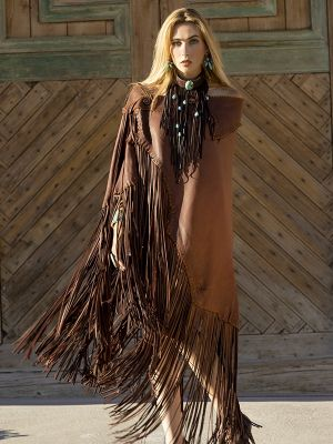 Chickasaw Long Cape