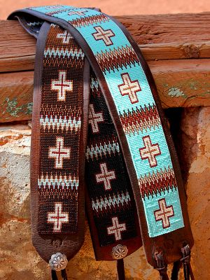Beaded Tie Belts